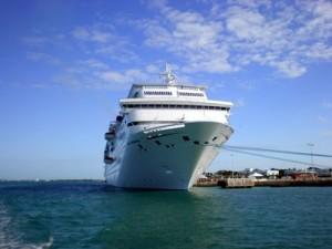 Carnival Imagination docked in Key West