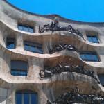 Gaudi's Casa Mila, Barcelona