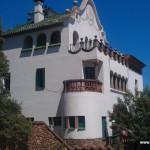 Villa at Gaudi's Parc Guell, Barcelona