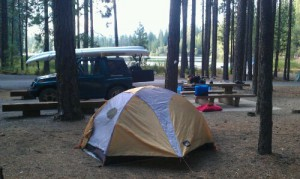 Upper Letts Lake Campground